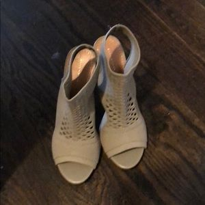 Zara Shoes - Peep toe sandals from Zara size 39 (size 8).